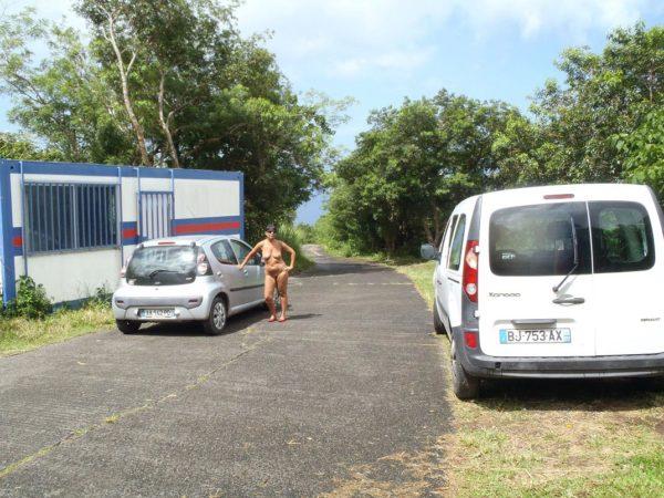 Cam2cam en direct de ma voiture avec un voyeur de mon site - 2 part 9