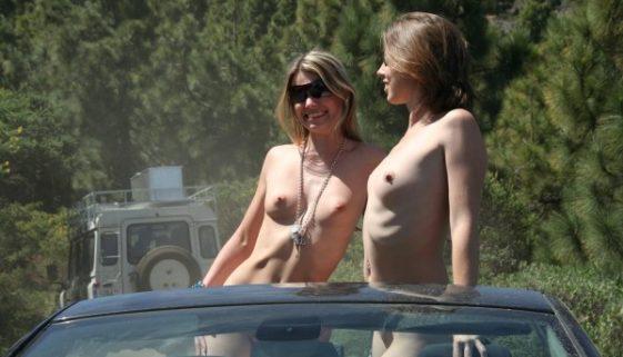 Photos amateur nue en exterieur