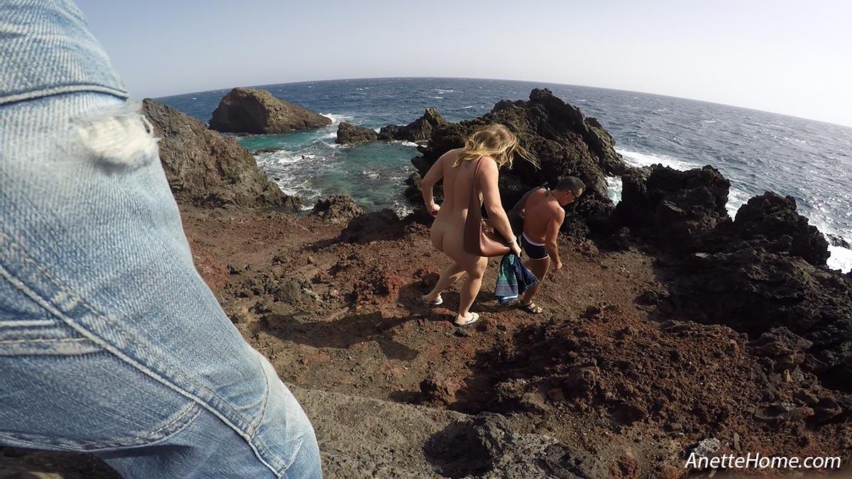 coquinerie a la plage