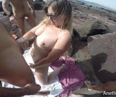 trois bites a la plage
