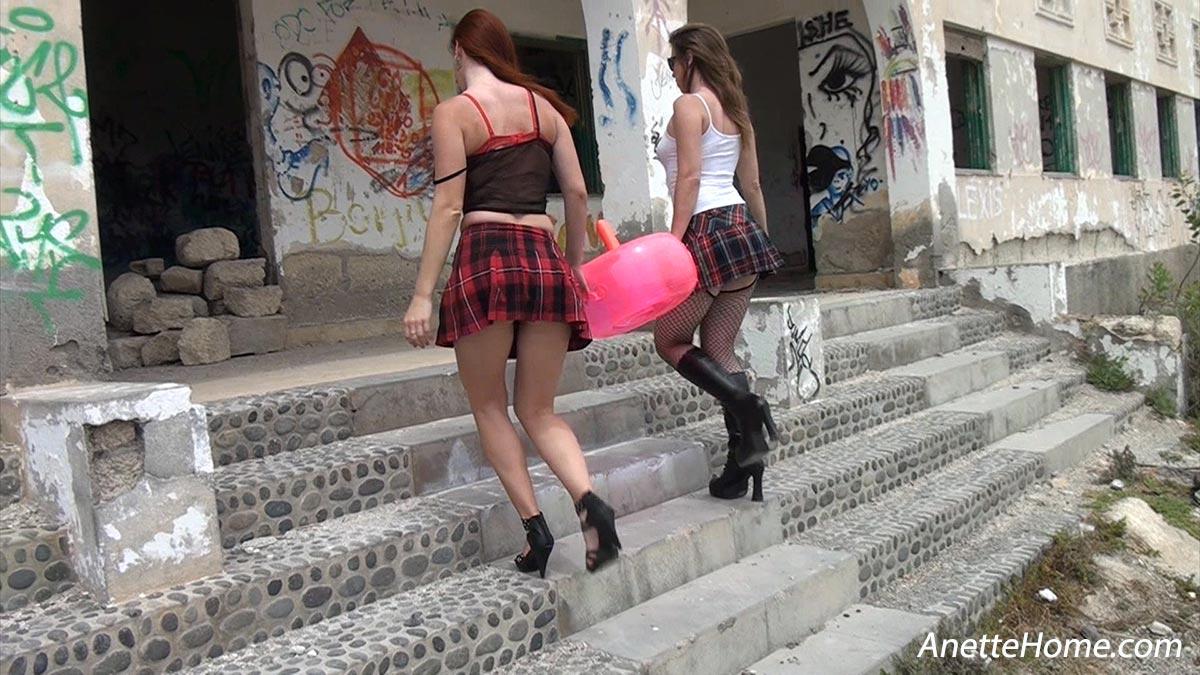 Deux copines coquine