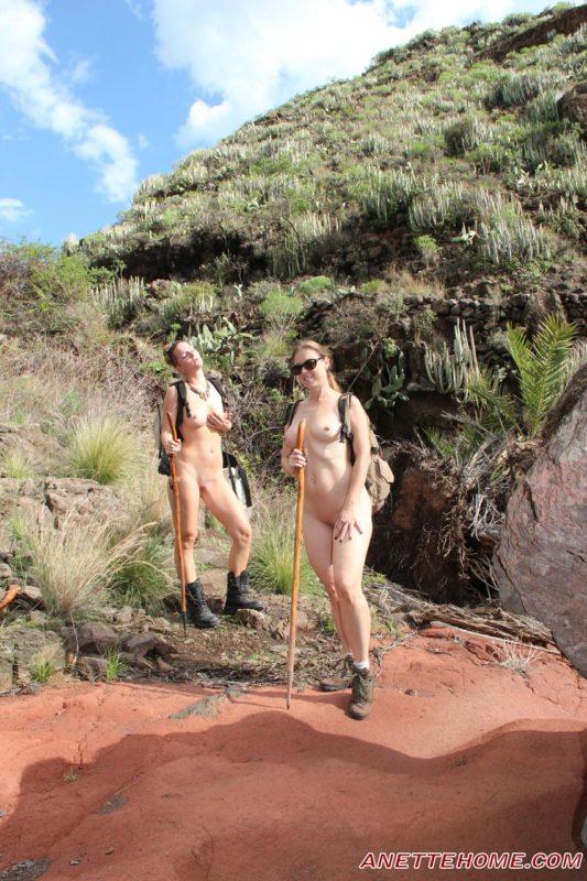 randonnée nues