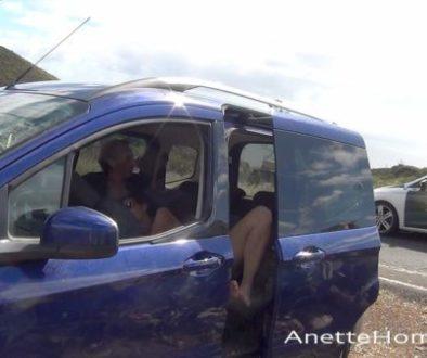 Sexe au bord de la route